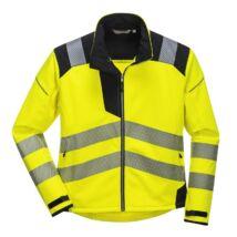 Vision Hi-Vis Softshell kabát sárga-fekete