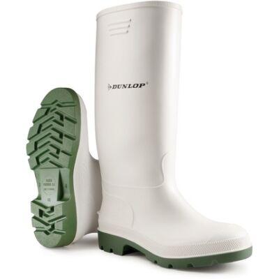 Dunlop Fehér Sav és lúgálló PVC Csizma