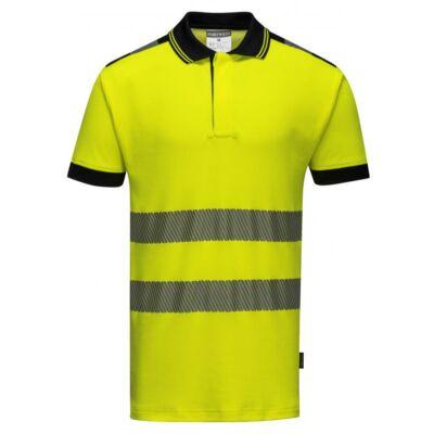 Jól láthatósági pólóing sárga