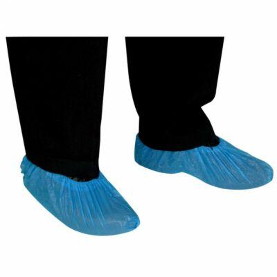 Kék nylon cipővédő 100 db