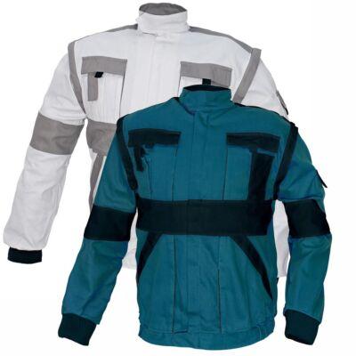 MAX kabát 260g-m2 fehér-szürke