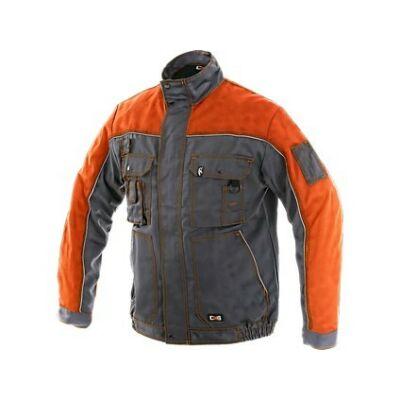 OTAKAR 1146-BL58 orion kabát,szürke-narancs
