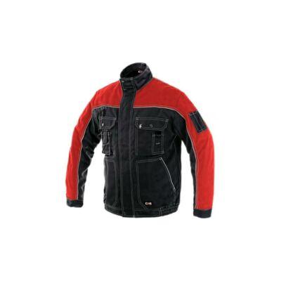 OTAKAR 1144-BL orion kabát,fekete-piros