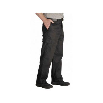 Combat nadrág hosszított fekete