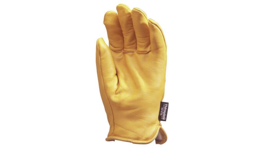 708168cc77 Alaska sárga marhabőr téli kesztyű - Bőr kesztyűk