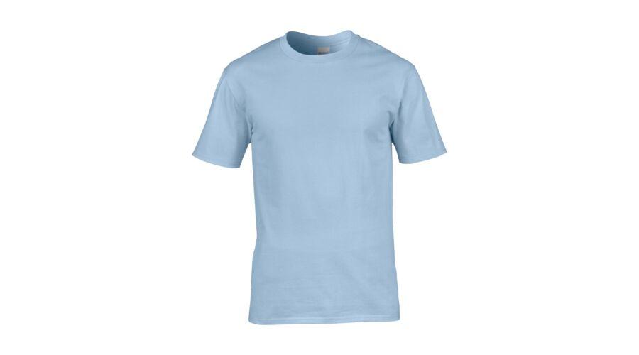 Gildan Prémium Cotton környakas póló - Póló 9e79135695
