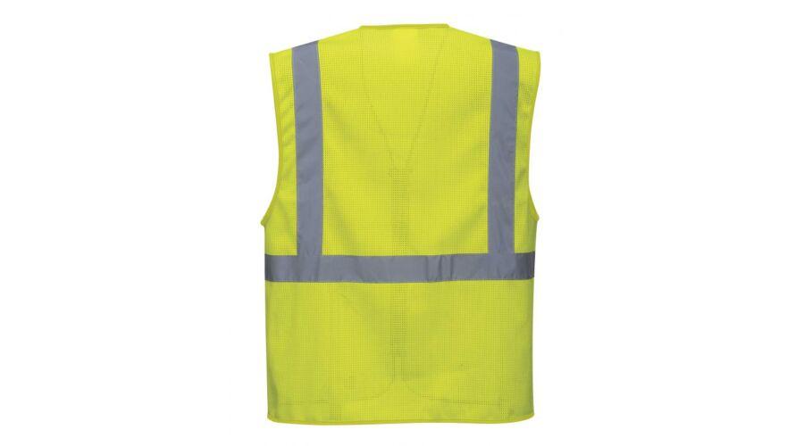 Athen MeshAir vezetői mellény - Jól láthatósági ruházat 217c024481