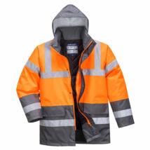 S467 - Hi-Vis Kéttónusú Traffic kabát