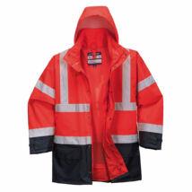 S768 - Hi-Vis Executive 5 az 1-ben kabát - Piros