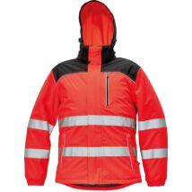 Knoxfield Hi-Vis téli dzseki piros