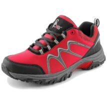 CXS SPORT softshell félcipő, piros/fekete