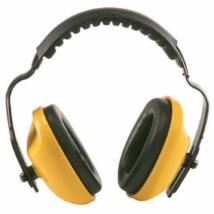 MAX 400 sárga fültok párnázott fejpánttal (SNR 25dB)
