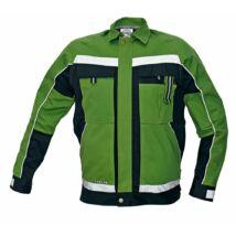 STANMORE kabát zöld/fekete 52