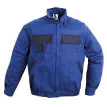 C-Plus kék kabát,100% pamut 250gr 46
