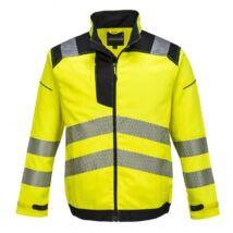 PW3 T500 jól láthatósági kabát sárga