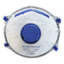 P223 - FFP2 aktívszenes szelepes Dolomit légzésvédő maszk