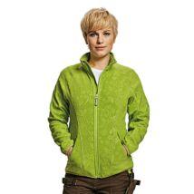 Yowie női polár kabát zöld