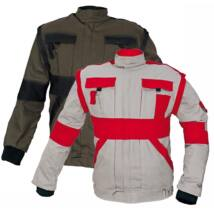 MAX kabát 260 g/m2 barna/fekete 56
