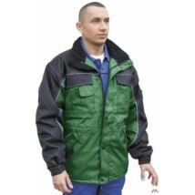 Grönland kabát zöld-fekete