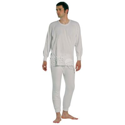 Jégerfelső fehér, pamut  XL