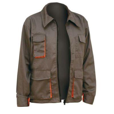 Desman női kabát szürke/narancs 40
