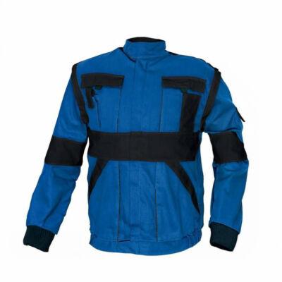 MAX kabát 260 g/m2 kék/fekete 68