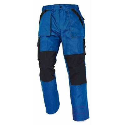 MAX nadrág 260 g/m2 kék/fekete 54