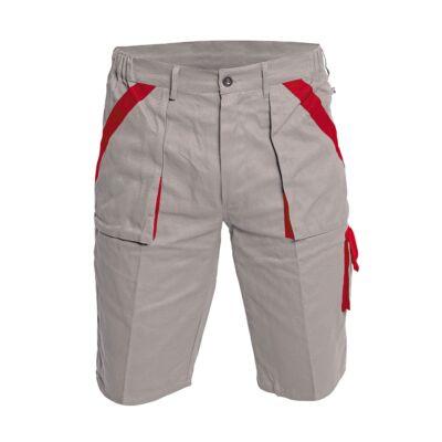 MAX rövidnadrág szürke/piros 56