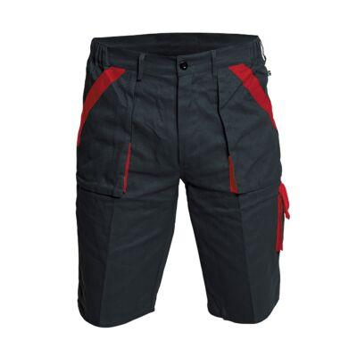 MAX rövidnadrág fekete/piros 60