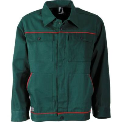 Optima zöld 100% pamut dzseki 44