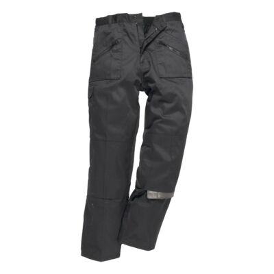 C387 - Bélelt Action nadrág - fekete