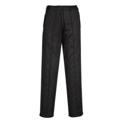 LW97 - Női gumírozott nadrág - fekete