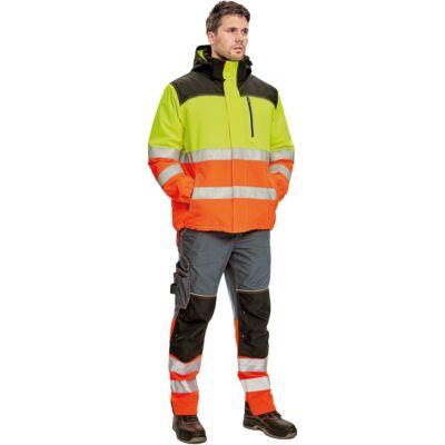 Knoxfield Hi-Vis téli dzseki sárga/narancs