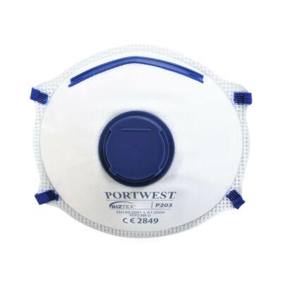 P203 - FFP2 szelepes Dolomit légzésvédő maszk