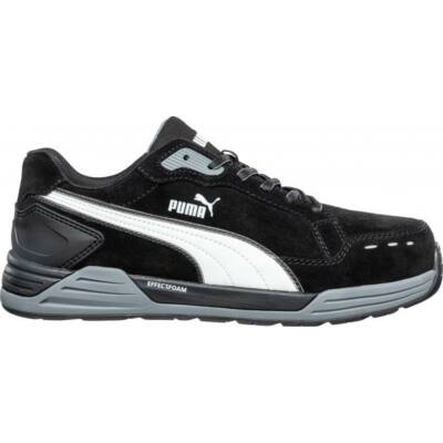 Puma Airtwist Black Low S3 ESD HRO SRC munkavédelmi cipő