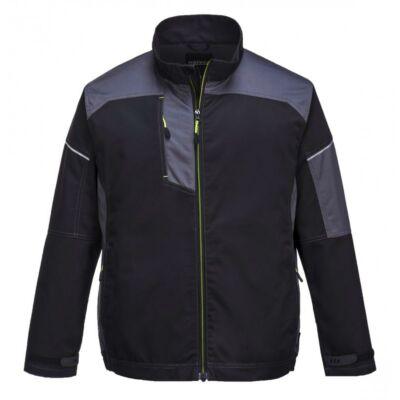 T603 - Urban Work kabát - fekete-szürke