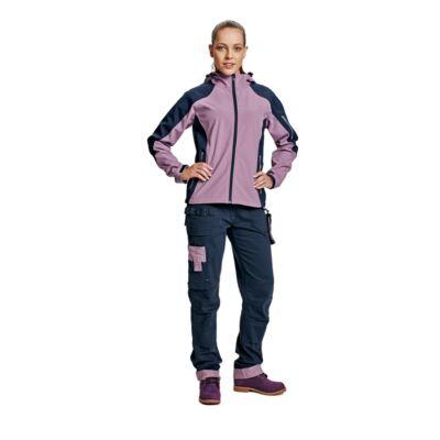 Yowie női nadrág navy-világos lila
