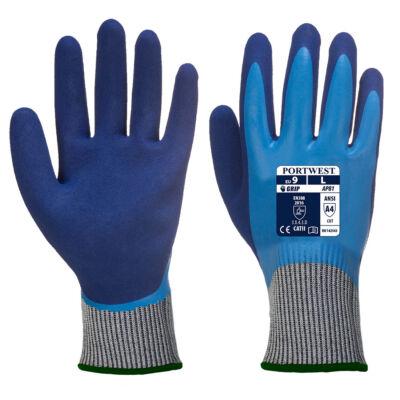 AP81 - Liquid Pro HR Cut kesztyű Kék