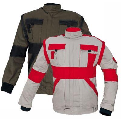 MAX kabát 260 g/m2 barna/fekete 60