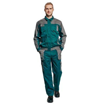 MAX EVO kabát zöld/szürke 62