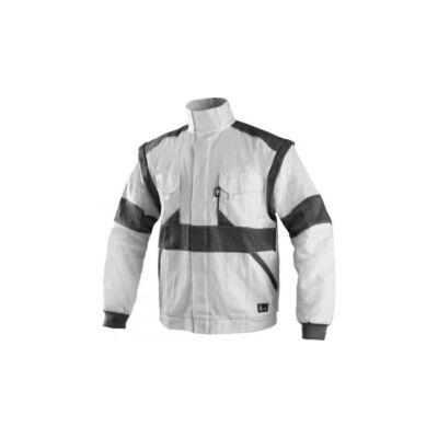 EDA kabát fehér/szürke