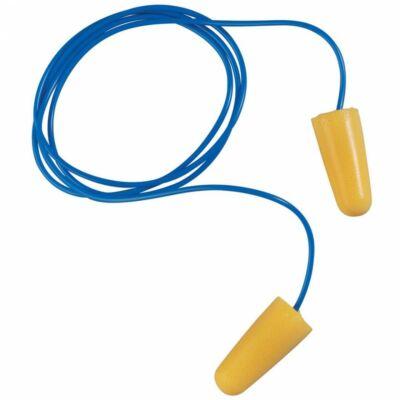 Earline zsinóros, narancs színű, lekerekített hengeres PU füldugó (SNR 36dB)