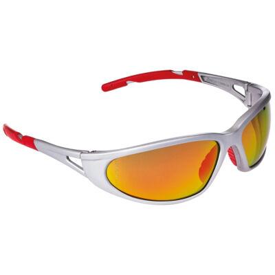 Freelux Védőszemüveg piros tükrös lencse