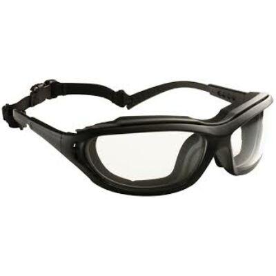 Madlux szemüveg fekete/szürke poliamid, víztiszta