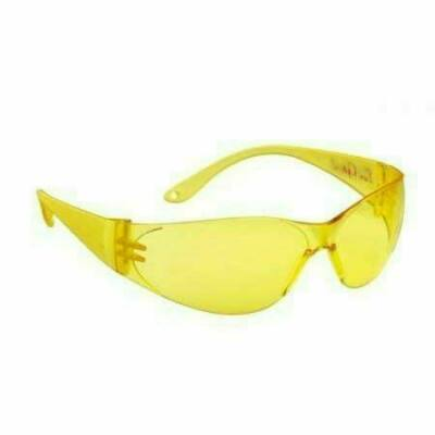 Pokelux polikarbonát vedőszemüveg sárga lencse