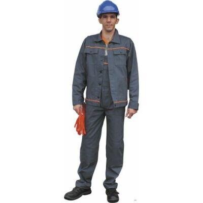 Optima szürke kevertszálas dzseki 260 gr. 60